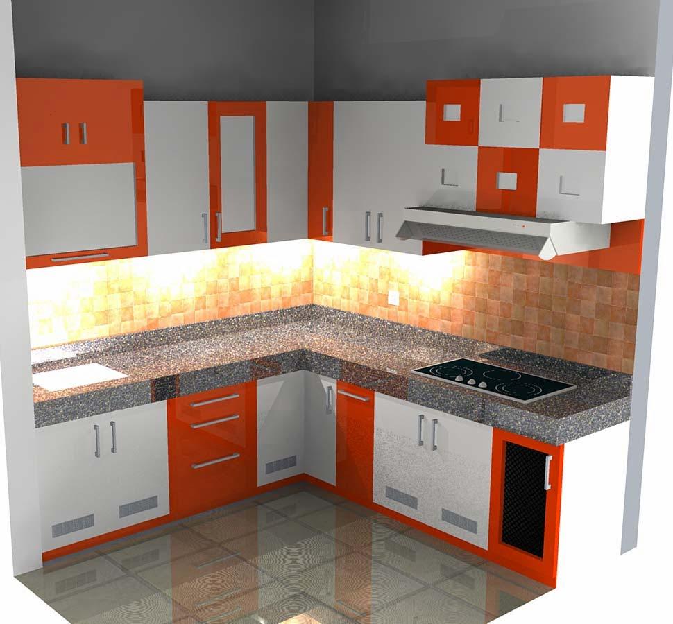 Dapur minimalis modern ukuran 3x3 terbaru 2018 1001 for Biaya kitchen set per meter