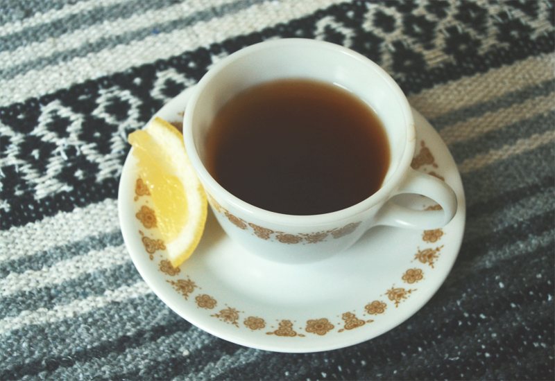 The Flying Clubhouse: August Gold | Butterfly Gold cup and saucer