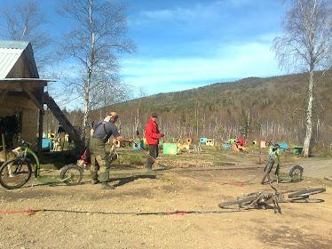 майские тренировки на финском самокате