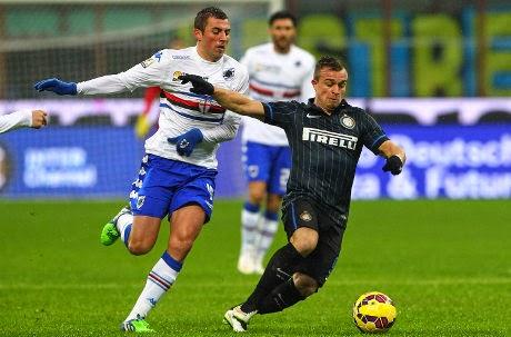 Copa Italia : Inter Milan 2 – 0 Sampdoria