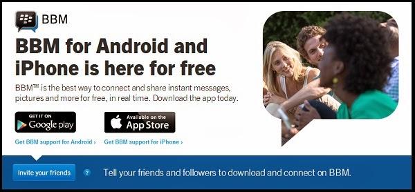 Aplikasi BBM Android iOS