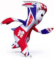Mascote do Jogos Olímpicos de Londres 2012.