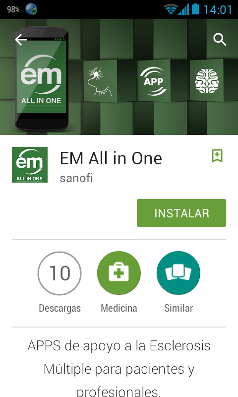 em all in one sanofi google play store