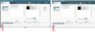 langkah ke 4 untuk memotong video menggunakan SolveigMM AVI Trimmer + MKV