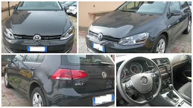 VW GOLF 7 1.4 TGI METANO BLUEMOTION HIGHLINE - CERCHI 17-TELECAMERA POST-ECC- ANNO 2014  30.000 KM