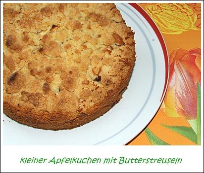 Kaffeeklatsch Einfache Und Schnelle Rezepte Kleiner Apfelkuchen