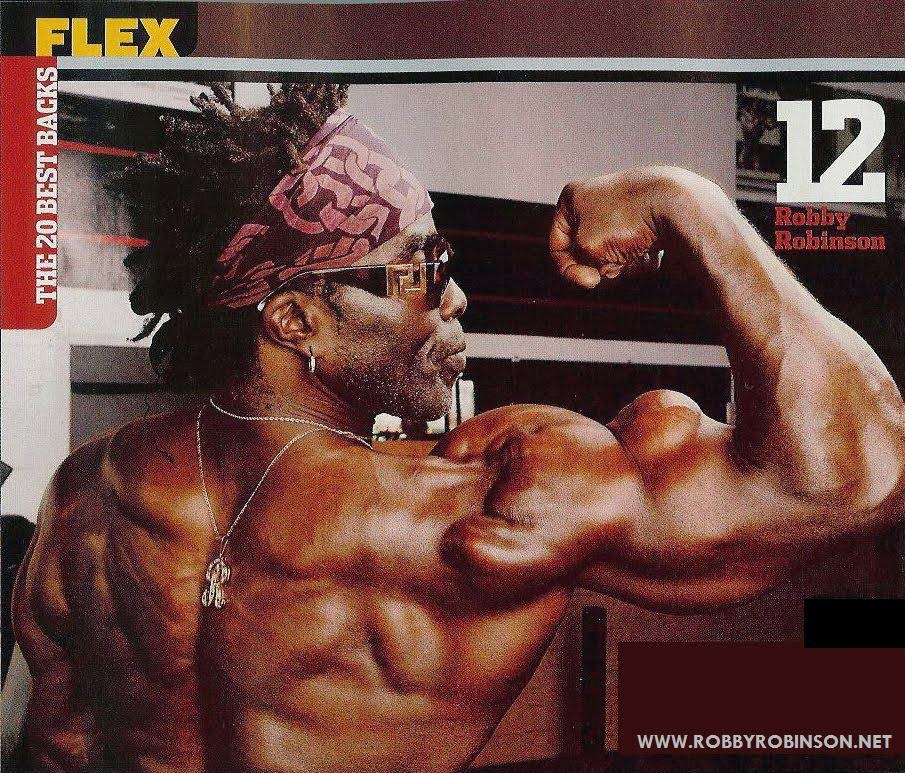 Robby Robinson among the 20 best backs - Flex Magazine  ● www.robbyrobinson.net/dvd_built.php ●