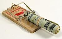 armadilha ratoeira dinheiro