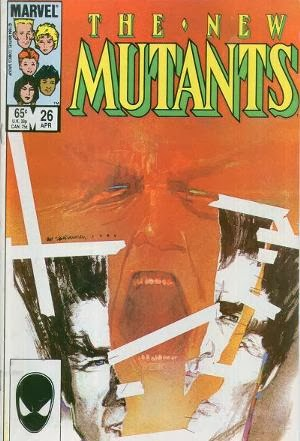 New Mutants #26 cover