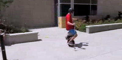self balancing unicycle made with arduino