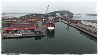 Containerhavnen i Kristiansand