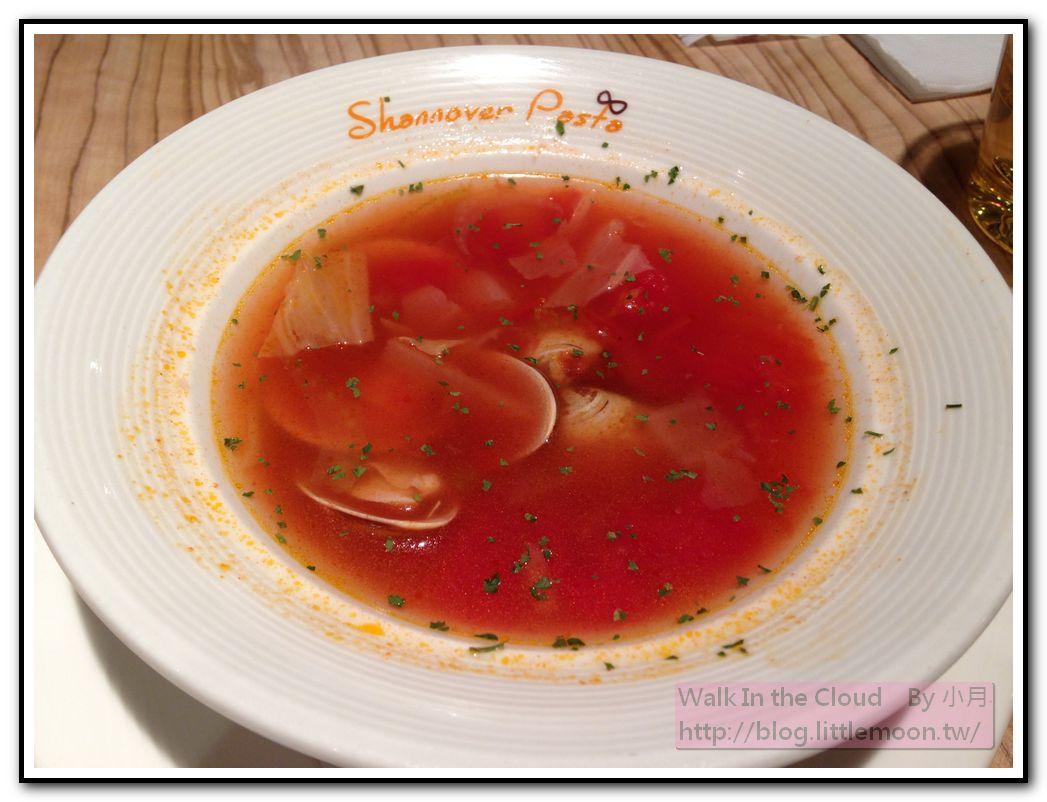 番茄蛤蠣濃湯