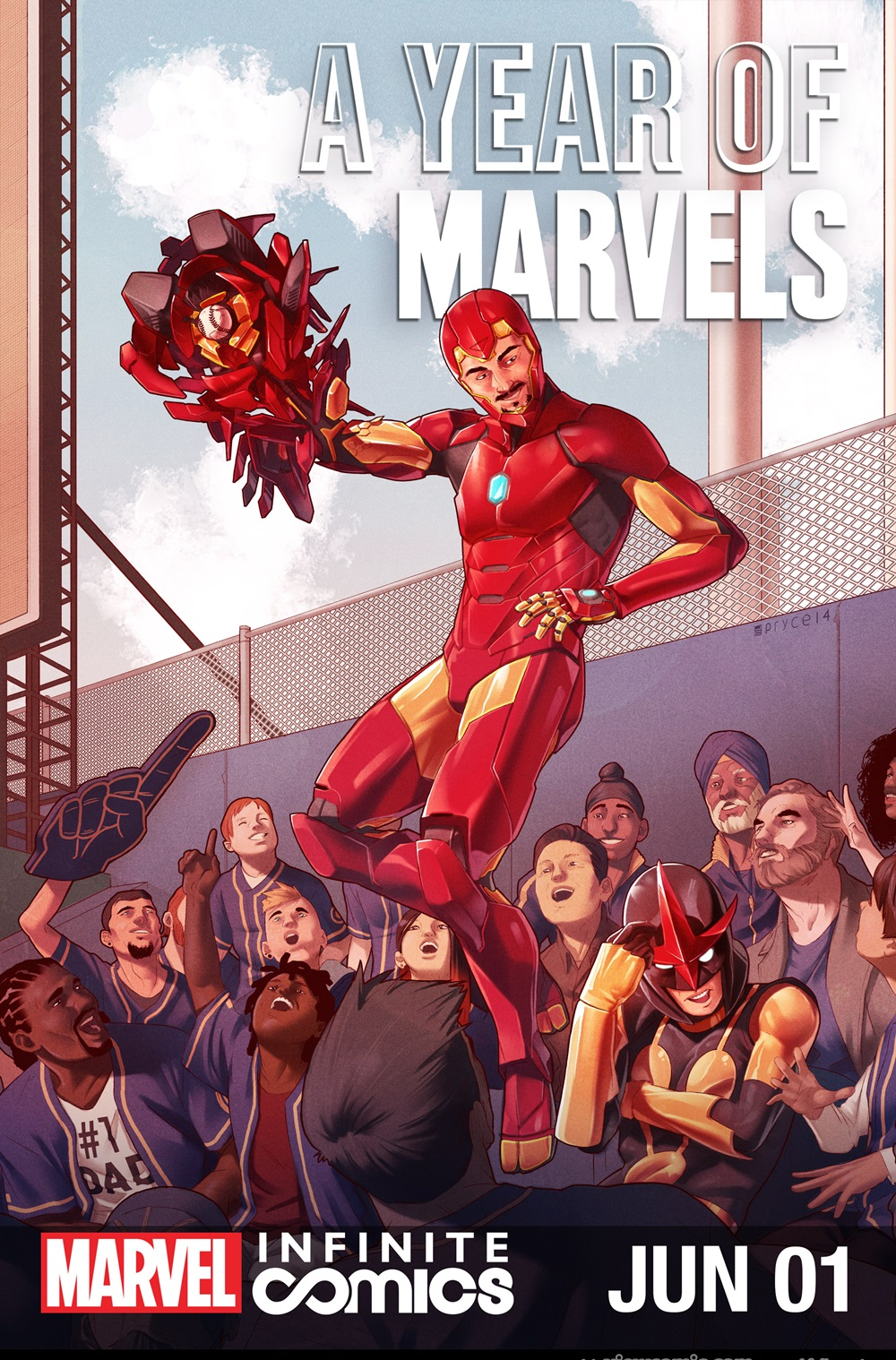 A Year of Marvels – June Infinite Comic
