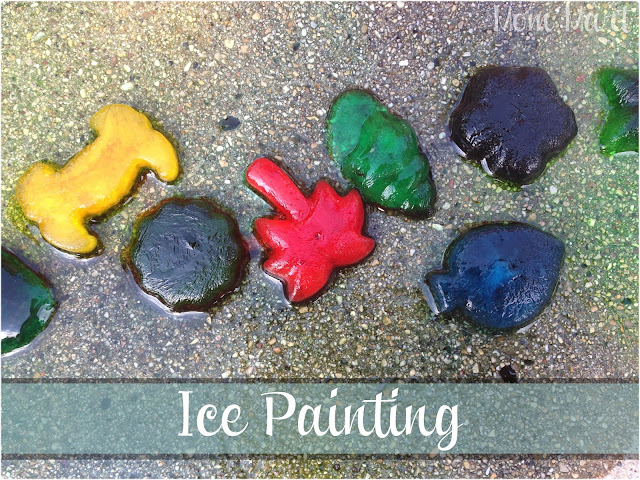 Ice Painting Kid Craft Activity: Mom Mart