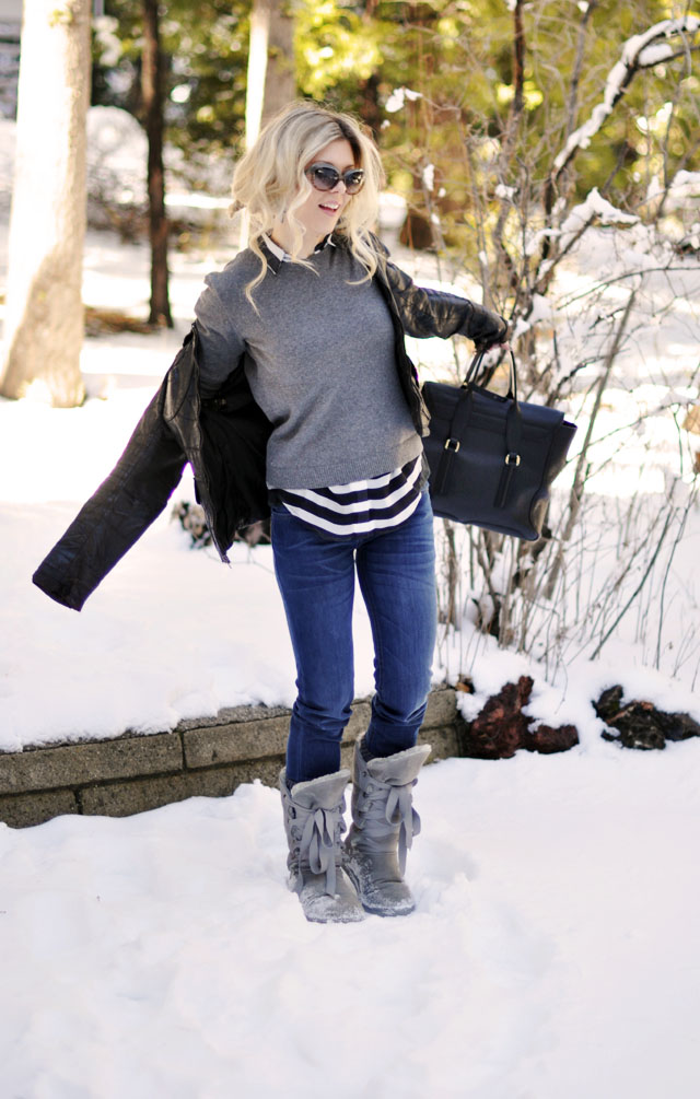 style in the snow