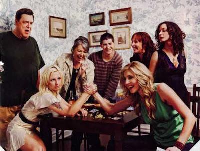 Pulso entre Chalke y Goranson, las dos Becky de Roseanne