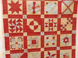 Bienvenida al patchwork: Sampler