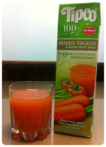 Tipco Mixed Veggie and Mixed Fruit Juice