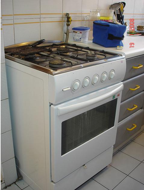 Como limpiar la ventana del horno de la cocina - Como limpiar baldosas cocina ...