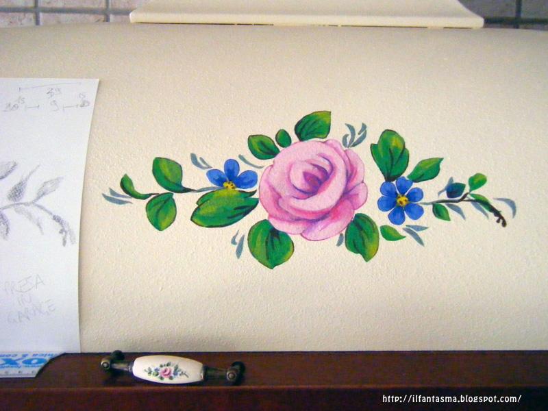 Connu Le avventure della mia fantasia: [bricolage] Dipingere una rosa  VK67