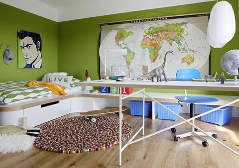 Propuestas originales para una habitación infantil o juvenil