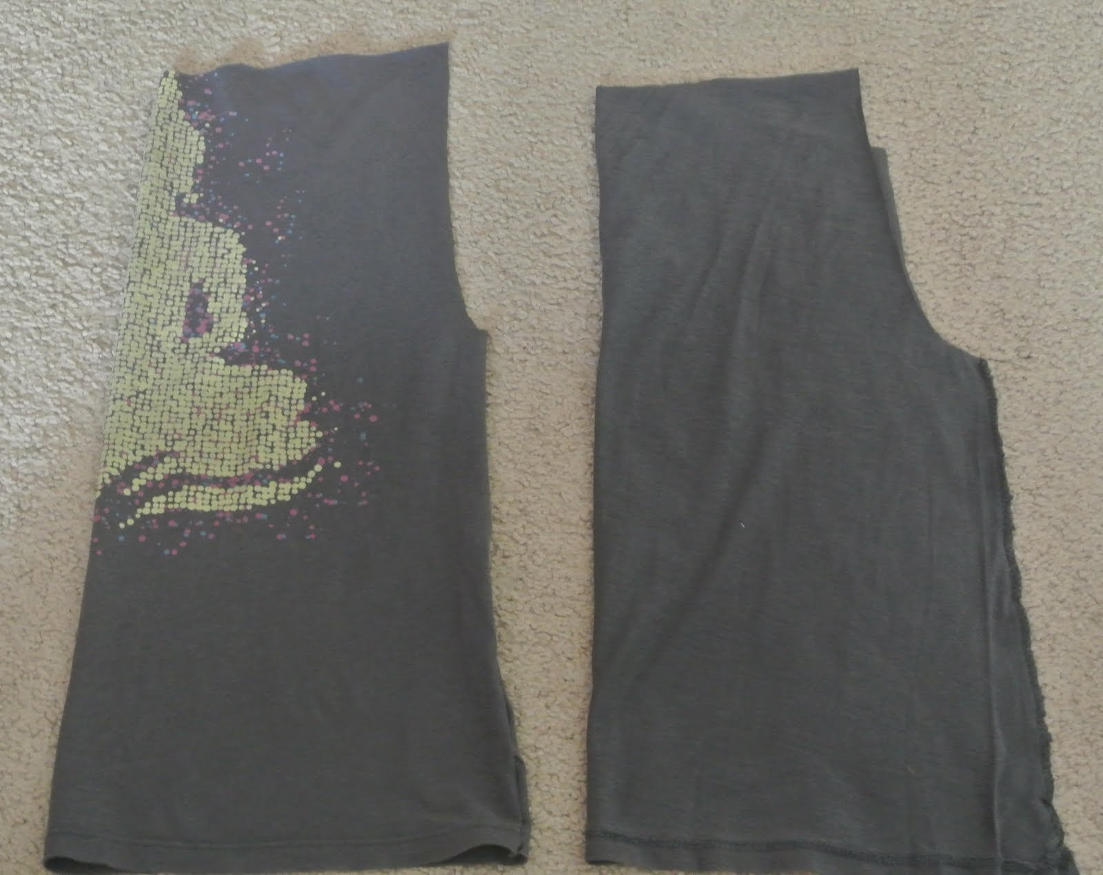 Ripped Yoga Pants Updated yoga pants from oldRipped Yoga Pants Gif