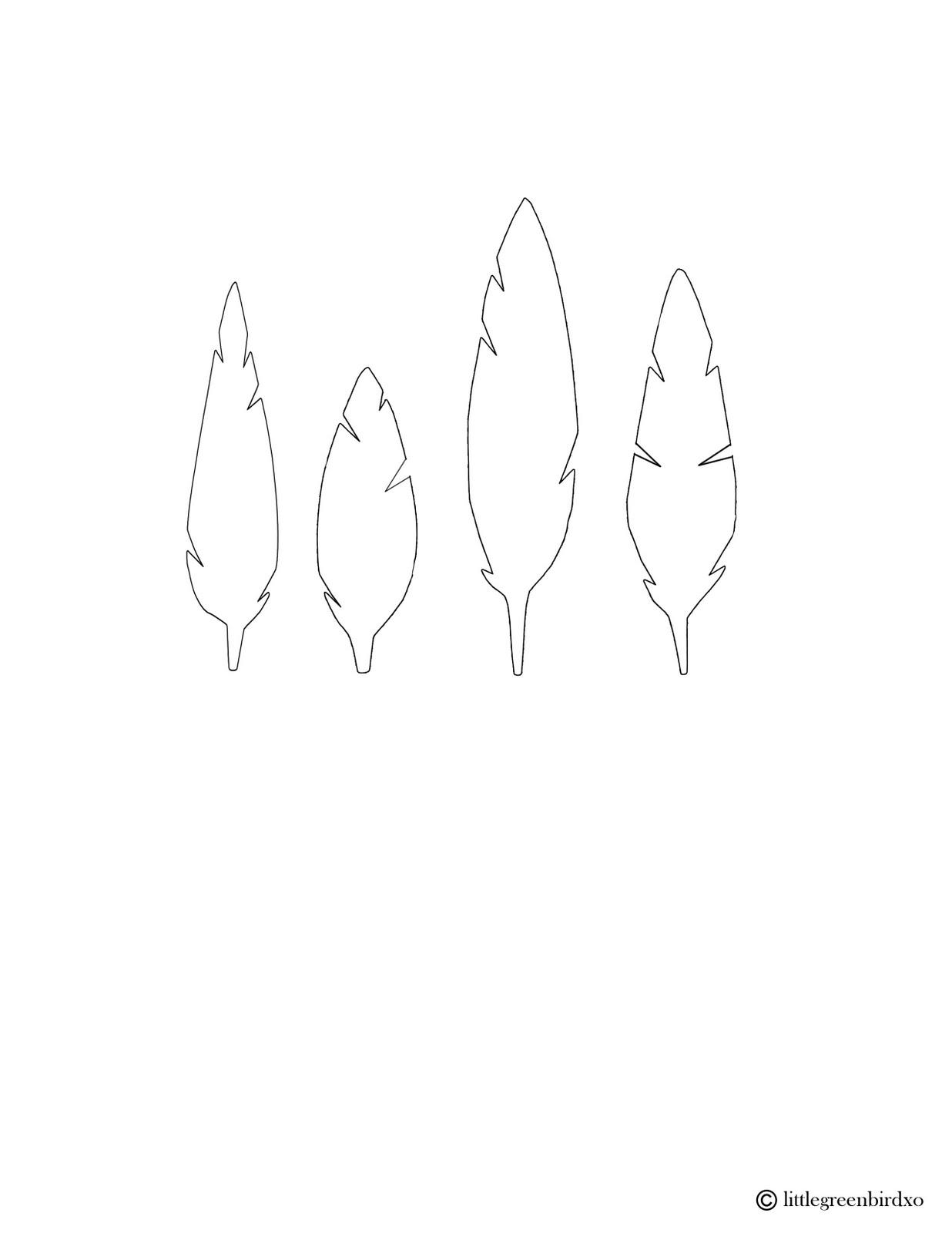 Feather Template - Virtren.com