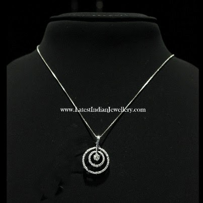 Indian Diamond Pendant Chains