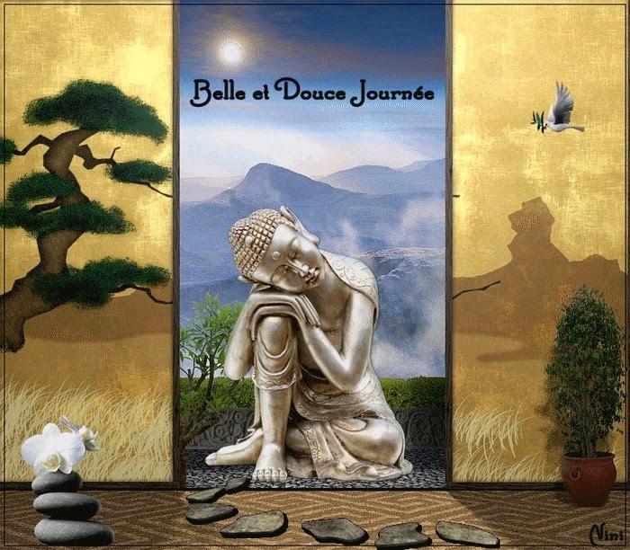 Favorit Citations et Panneaux Facebook à partager: Panneau zen avec Bouddha RZ84