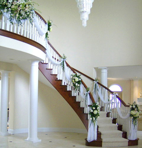 STAIRCASE DECORATION FOR FESTIVAL | Interior design ideas