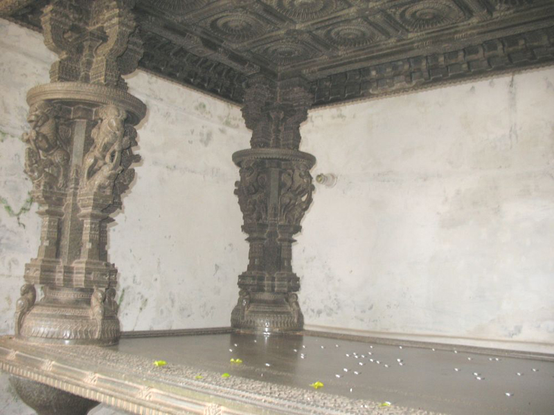 Stone Cot Madhukeshwara Temple
