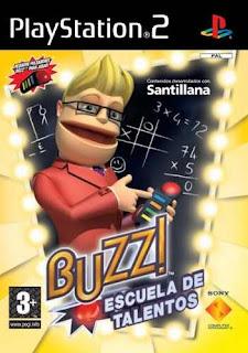 Buzz! escuela de talentos PS2