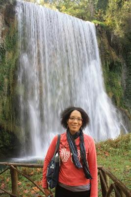 Cascada Caprichosa in Monasterio de Piedra