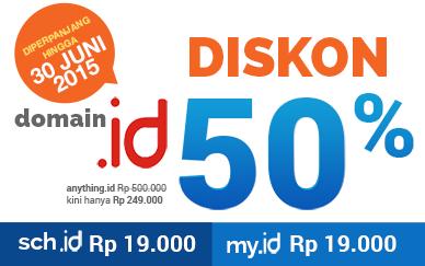 Promo Domain Bulan Juni 2015