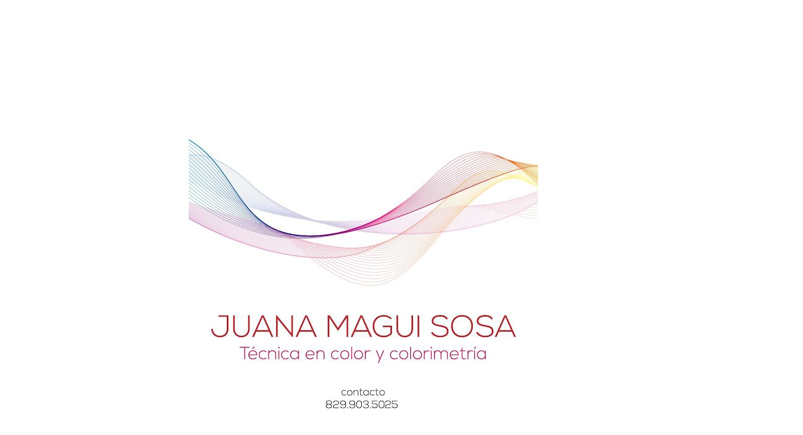 Juana Magui Sosa Estilista