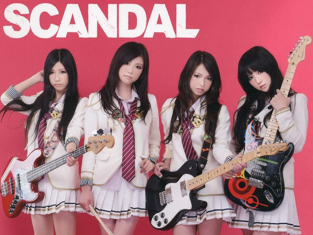 SCANDAL Namida No Riguretto Seifuku Wallpaper