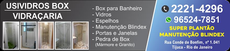 Serviços de Vidraçaria, Box e Manutenção Blindex
