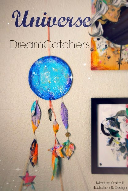 Universe DreamCatchers by artist Martice Smith II