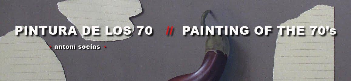 antoni socía Pintura >1970< / Painting from 70's