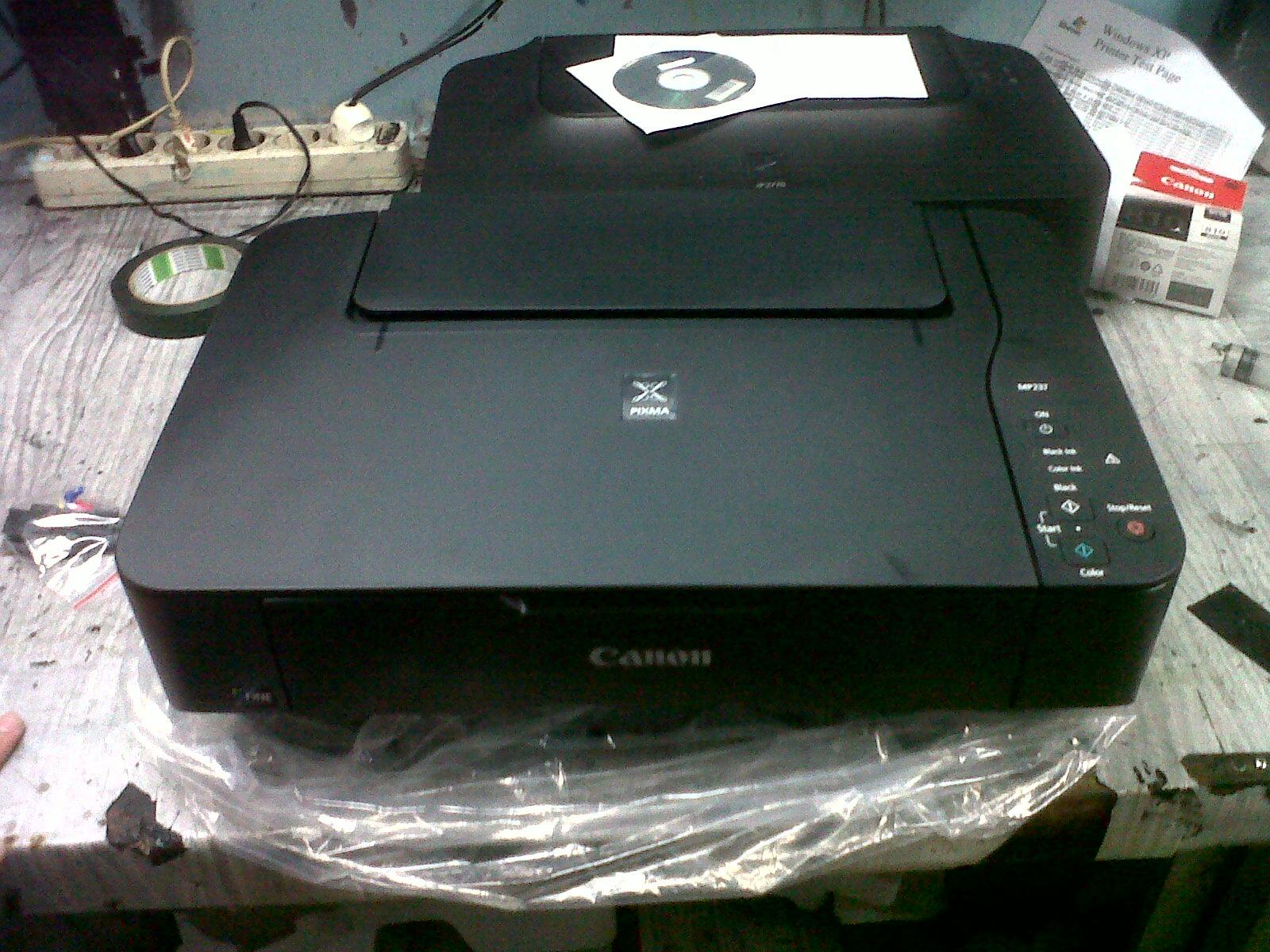 Langkah Memasang Infus Saluran Pembuangan Pada Printer Canon Pixma Selang 4 Jalur Mp237
