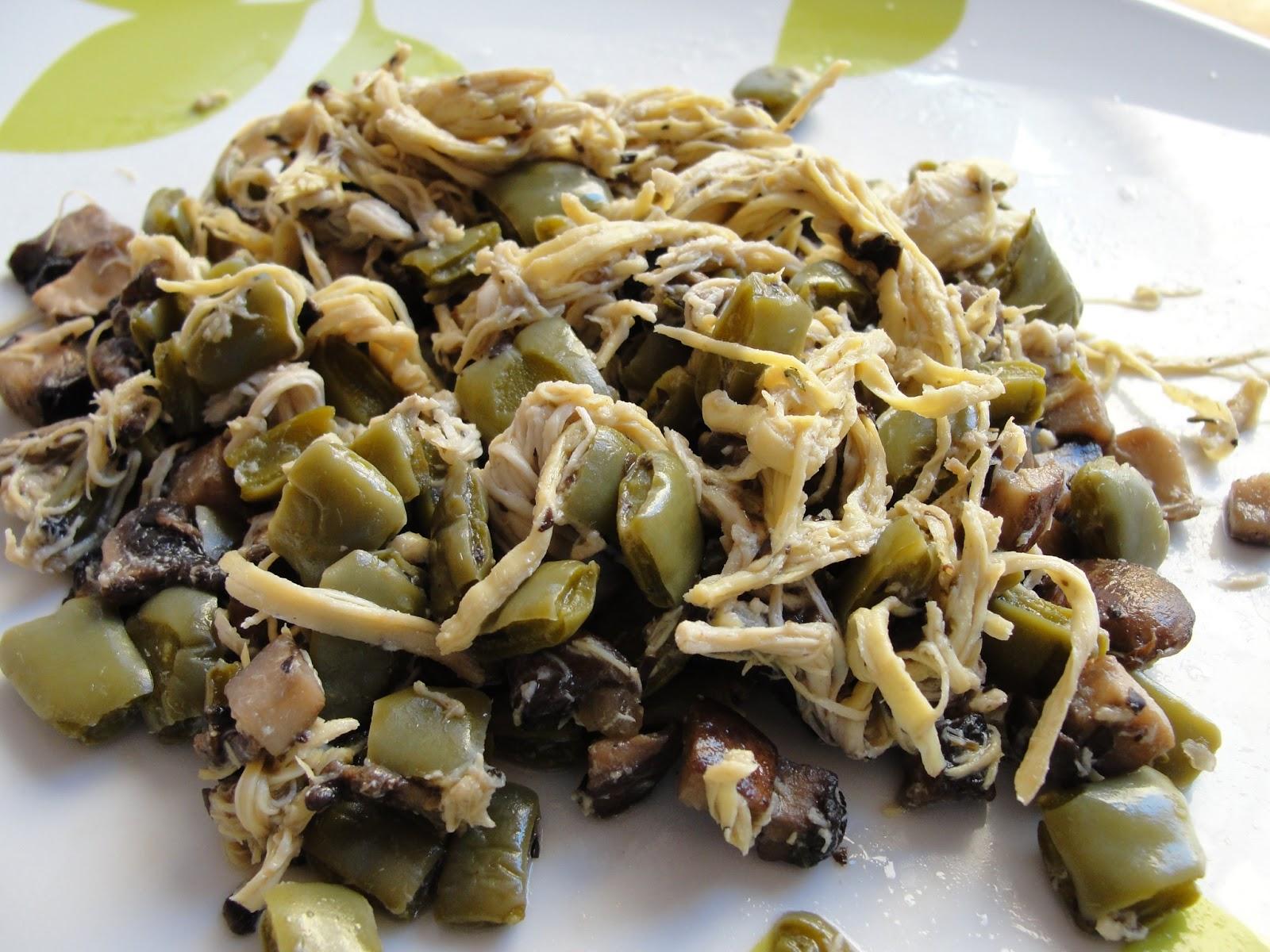 Disfruta cocinar pollo con champi ones y nopales for Cocinar nopal