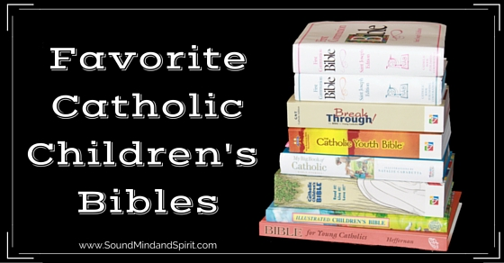 Best Catholic Bibles for Kids or Youth