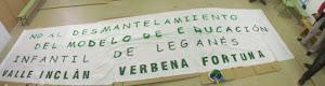 MANIFIESTO ESCUELAS INFANTILES, NO AL DESMANTELAMIENTO DE LA EDUCACIÓN INFANTIL EN LEGANÉS.