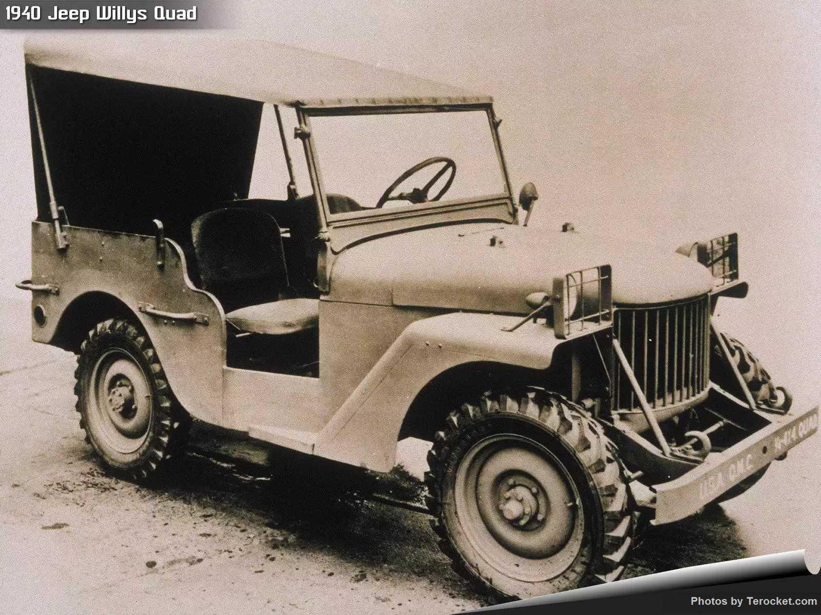 Hình ảnh xe ô tô Jeep Willys Quad 1940 & nội ngoại thất