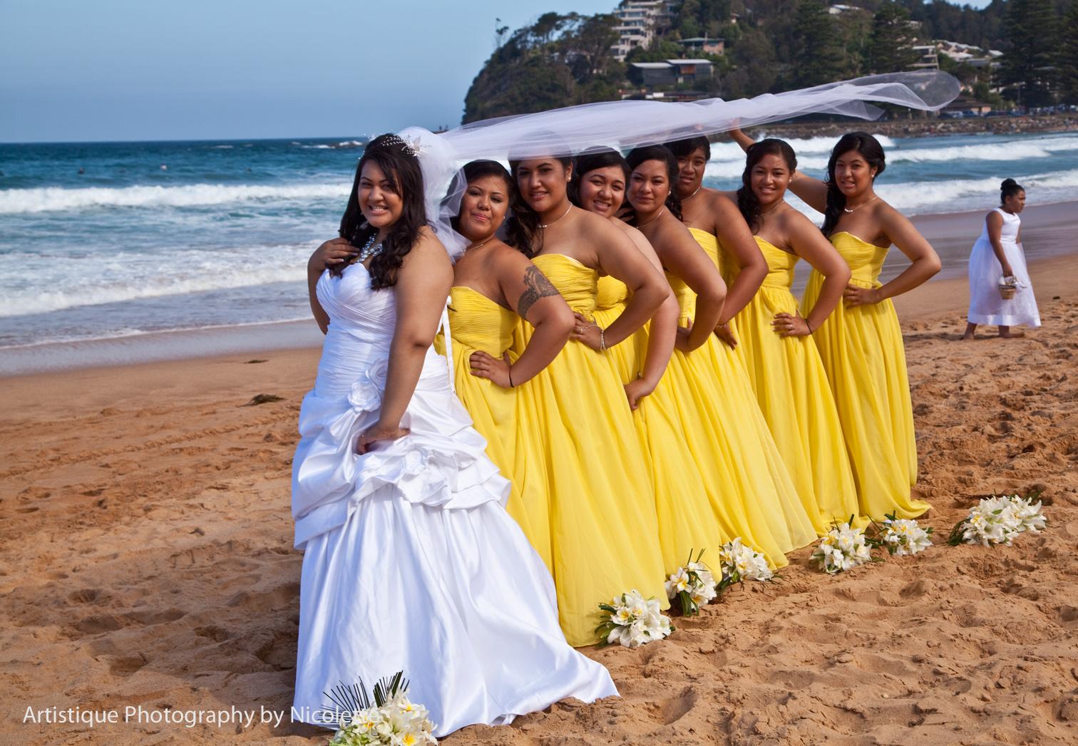Beach Wedding Bridesmaid Dresses Viewing Gallery