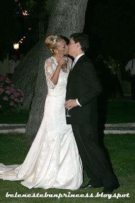 belen esteban boda fran beso