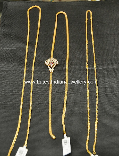 Latest Gold Chains designs