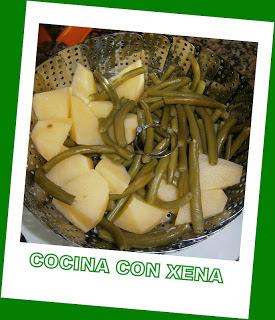 Judías Verdes Con Patatas Al Vapor...en Gm D Y E