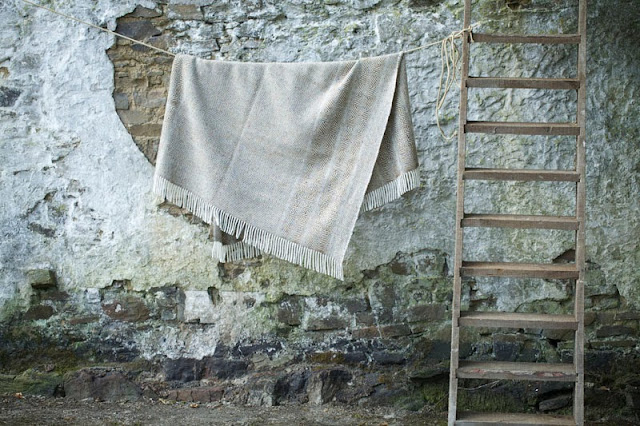 Woollen blanket by Studio Donegal, available from I am of Ireland
