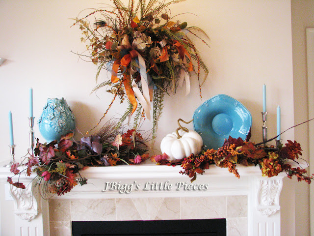 Classically Trendy Fall Mantel Inspiration ~ DIY Friday